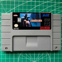 NOSFERATU  SNES Video Game  USA version FREE SHIPPING