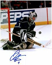 Los Angeles Kings JAMIE STORR Signed Autographed 8x10 Pic H