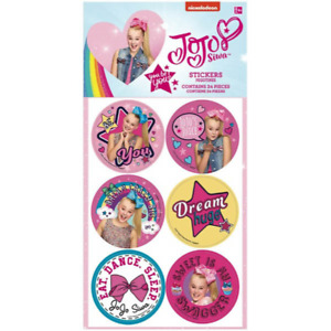 JoJo Siwa Stickers, perfect for party bags (24)