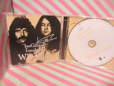 IAN GILLAN & TONY IOMMI Who Cares 2 CD SET SIGNED DEEP PURPLE
