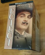 Agatha Christie's Poirot: Bronze Collection (VHS) David Suchet mystery NEW
