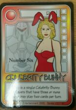KILLER BUNNIES PROMO OMEGA 6 -   CELEBRITY BUNNY Card Game