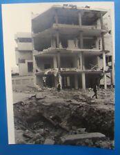 1986 AFP Press Photo Operation El Dorado Canyon USA Lybia War Bomb 18 x 24 cm