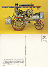 MODEL OF STEAM TRACTION ENGINE AT THE SMITHSONIAN INSTITUTE UNUSED POSTCARD