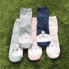 Molang Womens Cute Casual Soft Warm Comfortable Socks US 5-8 Size 5 Pairs #1