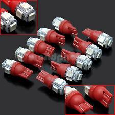 10 x Durable T10 5050 SMD 5 LED Lámpara Bombilla Luz Para Coche de Buena Venta