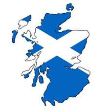 """Auto Aufkleber SCHOTTLAND Scotland Decal Sticker 11cm (4.3"""") konturg. die-cut"""