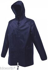 Regatta Stormbreak Waterproof Jacket Rain Coat W408 -navy Blue- Large