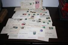 Storia Postale lotto Stock circa 100 pezzi quasi tutti con imperiale