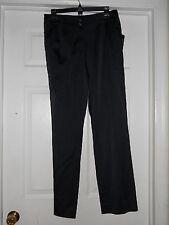 Sharon Young New Womens All Aboard Black Slacks 4 Pants NWT