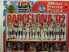 USA Basketball  300 piece puzzle  Barcelona 1992 Dream Team  NIB