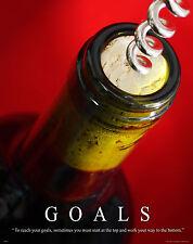 Wine Tasting Motivational Poster Wine Rack Glasses Corkscrew Barrel MVP278
