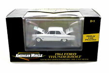 ERTL AMERICAN MUSCLE 1964 FORD THUNDERBOLT WHITE LIMITED 1/64 Diecast Car