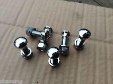 MGB chrome Bumper bolt set ubd8-z ROW 8-O