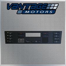 NEW BMW E39 E53 X5 REPLACEMENT PUSH BUTTONS CAPS A/C CLIMATE CONTROL PANEL SET