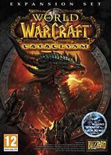 World of Warcraft Cataclysm Expansion Pack PC/Mac Rom DVD Add On Game Spiel Neu