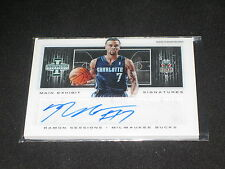 RAMON SESSIONS LEGEND CERTIFIED AUTHENTIC SIGNED AUTOGRAPH BASKETBALL CARD /199
