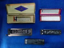 Group Of M.Hohner Harmonica Qty 3