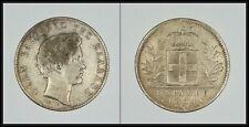 Greece Silver 1 Drachma 1834 King Otto aVF Paris mint RRR