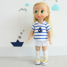 Disney Baby Doll Clothes / Tee + Skirt+ socks / Animator's Princess 16 inch