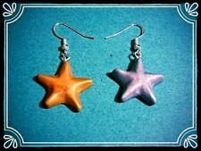 ** Shiny STAR ORECCHINI-HANDMADE NATALE Stocking Filler fimo **
