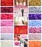5x 25x 1000x Silk Rose Petal Flower Confetti Engagement Wedding Party Decoration