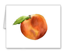 Peach Note Cards With Envelopes
