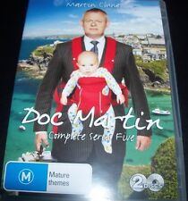Doc Martin The Complete Series 5 (Australia Region 4) DVD - New - Not Sealed
