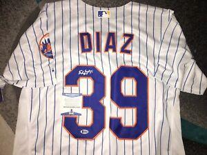 Edwin Diaz Signed New York Mets Jersey 2018 All Star Beckett