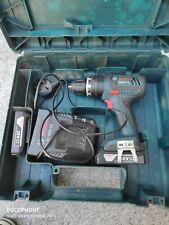 BOSCH GSB 1800+2X1,5ah batt+charger