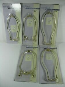 "Lot of 5 Portfolio 8"", 9"", 10"", Lamp Harps Sealed Package"