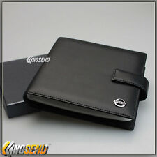 deluxe NISSAN Leather CD Case Car DVD Holder Disc Album Disk Storage Carry Box