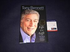 Tony Bennett signed Life is a Gift book PSA/DNA