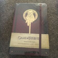 NEW, WRAPPED, GAME OF THRONES. HAND OF THE KING. JOURNAL. 9781608877188