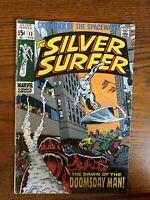 Silver Surfer #13 (1969) -- 1ST APPEARANCE DOOMSDAY MAN  **KEY**