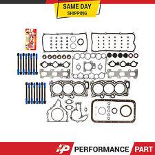 Full Gasket Set Head Bolts for 98-04 Honda Acura Isuzu V6 3.2 3.5 6VE1 6VD1