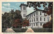 Spartanburg South Carolina Wofford College Antique Postcard J59623