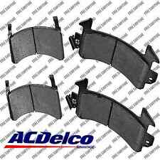 Disc Brake Pad-Semi Metallic Front Rear ACDelco Advantage 14D154M