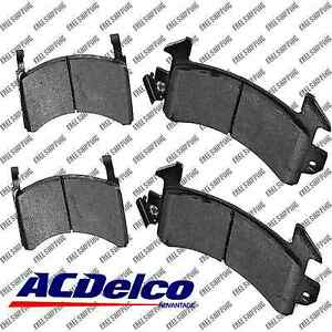 Disc Brake Pad-Semi Metallic Front Rear ACDelco Advantage 14D154M