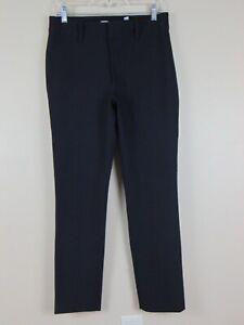 Vince High Rise Cigarette Pant Black $325 Women's Size 10 Flat Front Pockets