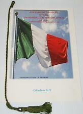 CALENDARIO STORICO 2012 -UFFICIALI SERVIZIO ATTIVO ANUPSA Associazione Nazionale
