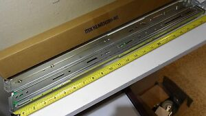 "One Pair (2) 22"" Chenbro Mounting Slide Rail Kit fits RM41300-FS81 & F2 RM42200"