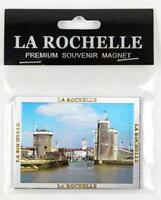 La Rochelle Premium Souvenir Magnet,Frankreich France,Laser Optik !