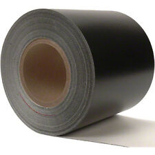 Sigman 6 in. x 3 ft. Tarp Repair Tape - 18 Vinyl Coated Polyester - Black Color