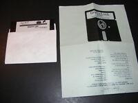 """GRAFIX LINK 1987 COMMODORE C64 64 Floppy 5.25"""" Rare Software"""