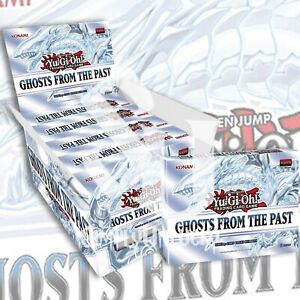 GHOSTS FROM THE PAST DISPLAY BOX 5 Miniboxes 15 PACKS YuGiOh Presale 04/16/21
