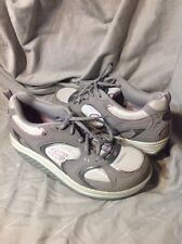 SKETCHERS - Shape Ups - Gray/Pink - Women's - Size 9.5 M Worn Only A Few Times