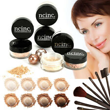 15pc Mineral Makeup Set Kit Bare Magic Skin Minerals Foundation Set - FREE GIFT