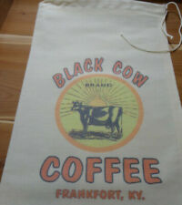 RL-23 BLACK COW Flour Bag Sack Feed Seed  Novelty Collectible