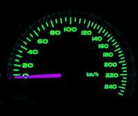 Green LED Dash Speedo Kit Lighting Set For Land Rover Discovery 300 Tdi V8